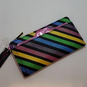 NWT! Sparkle Rainbow Wallet